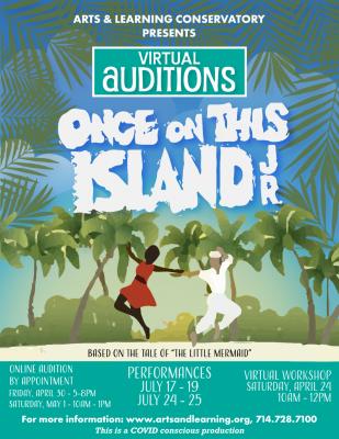 Virtual Audtions:  Singers & Dancers, ages 10-18