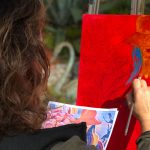 Live Art Classes with Sawdust Artists