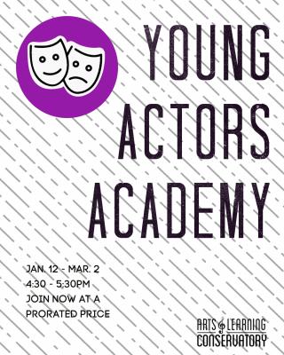 Young Actors Academy is Open