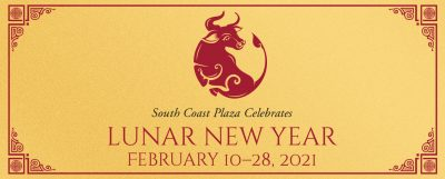 Lunar New Year with South Coast Plaza