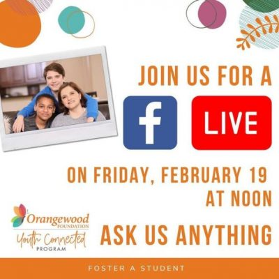 Foster Parent Q&A with Orangewood Foundation's Youth Connected Program