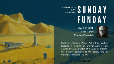 Sunday Fundays - Chesley Bonestell