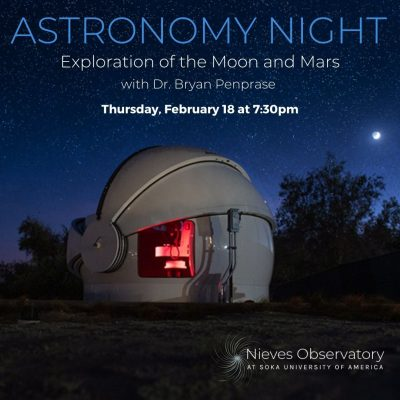 Astronomy Night: Exploration of the Moon and Mars
