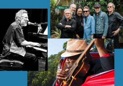 Taj Mahal and Phantom Blues Band with Special Guest Jon Cleary