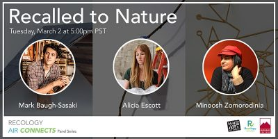 Panel Discussion:  Recalled to Nature