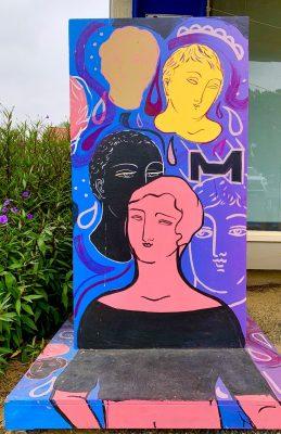 Sofia Enriquez Untitled Painted Sculpture