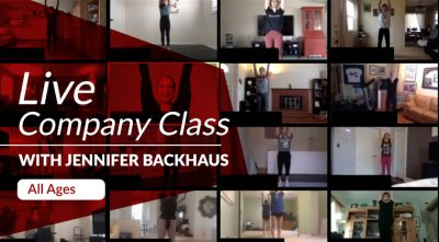 Live Company Class with Backhausdance