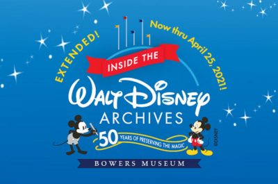 Inside the Walt Disney Archives @ Bowers Museum