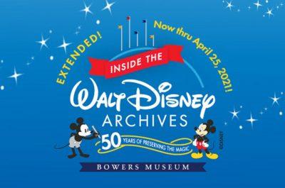 Disney at Bowers Museum