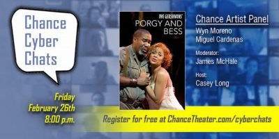 Chance Cyber Chat:  Porgy and Bess