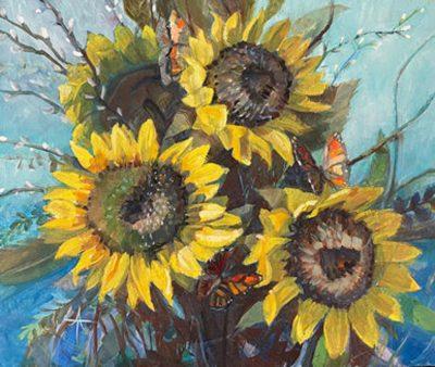 Floral Art Exhibit at John Wayne Airport