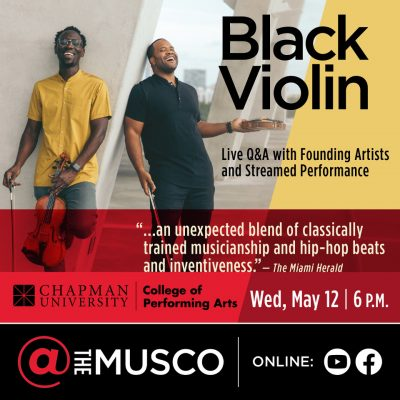 Live Stream:  Black Violin