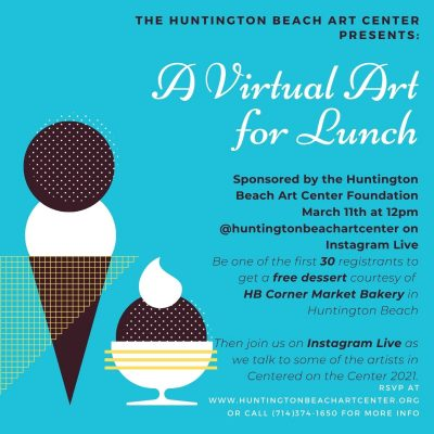 Virtual Art for Lunch