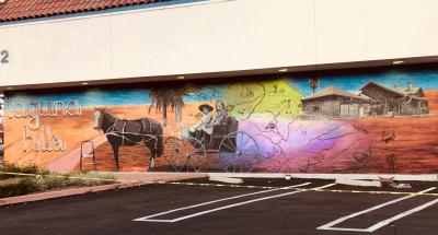 Moulton Ranch Center Mural