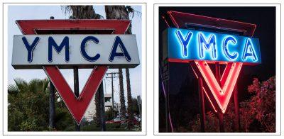 YMCA Sign