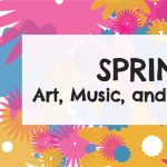 Spring Art Classes:  Tots to Teens