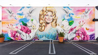 Dolly Parton Mural