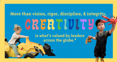 Spring Break:  STEAM + Creativity Camps