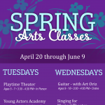 Spring Classes with The Arts & Learning Conservatory