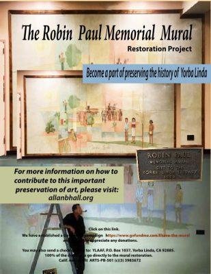 Save the historic Robin Paul Memorial Mural