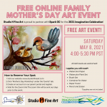 FREE Online Mother's Day Family Art Event