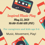 Inspired Music Play: Music and Movement
