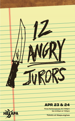 """HB APA's """"12 Angry Jurors"""""""