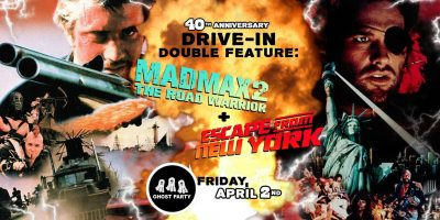 The Road Warrior + Escape from New York – Drive-In at Mess Hall Market