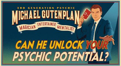 Michael Gutenplan:  The Magic Mentalist