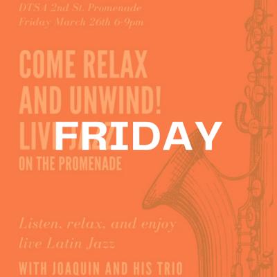 Live Jazz with Joaquin & his trio