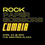 Rock, Paper Scissors:  CUMBIA!