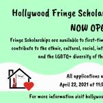 Hollywood Fringe Scholarship