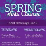 Spring Classes with Arts & Learning Conservatory