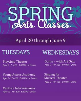 Spring Classes with Arts & Learning Conservato...