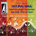 Spring Sing, Open Mic Night