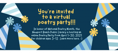 Virtual Poetry Party