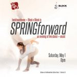Spring Forward with Backhausdance and Block x Block