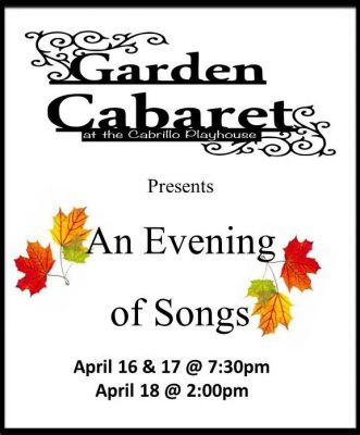Garden Cabaret at the Cabrillo Playhouse