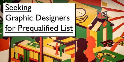 Seeking Graphic Designers