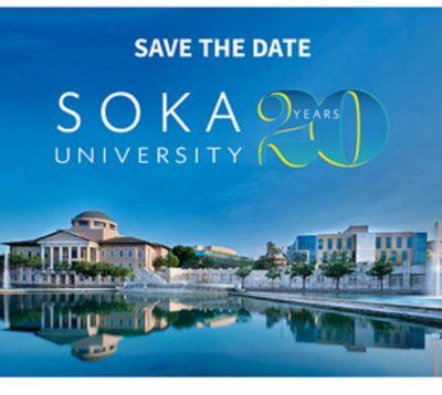 Soka's 20th Anniversary Virtual Celebration