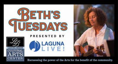 Live from Laguna Beach:  Beth's Tuesdays