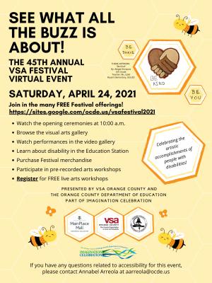 45th Annual VSA Festival - Celebrating the Artisti...