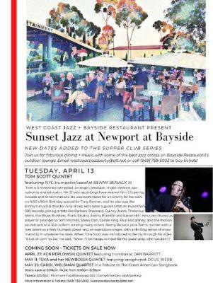 Sunset Jazz Supper Club at Bayside Restaurant