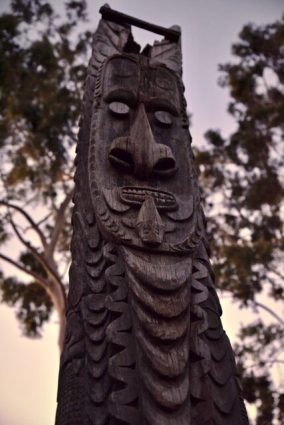 Papua New Guinea Story Poles