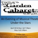 Garden Cabaret:  Musical Theatre Under the Stars
