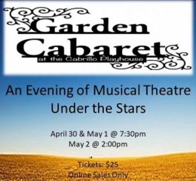 Garden Cabaret:  Musical Theatre Under the Stars