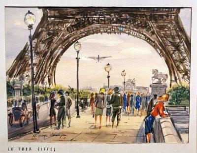 George Samerjan:  Paris and Los Angeles
