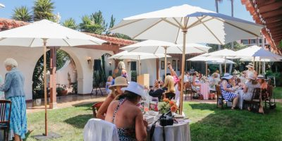 Mary Colby Tea at Casa Romantica