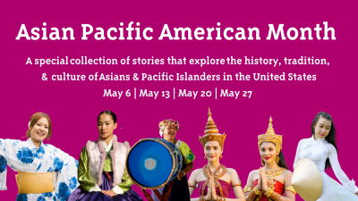 Pretend City:  Asian Pacific American Heritage Month