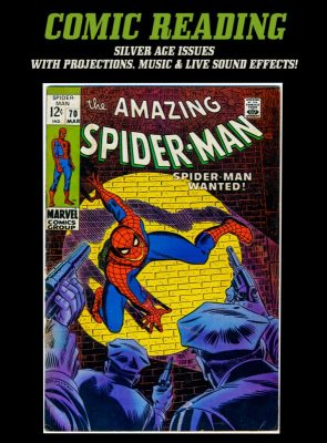 Comic Book Readings:  The Amazing Spiderman